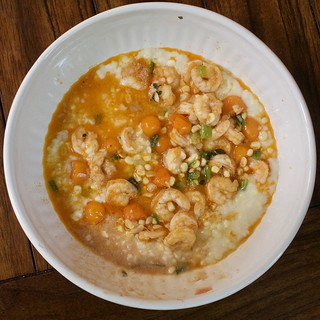 Shrimp and Creamed Corn