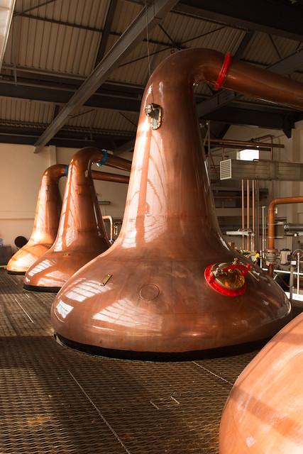 Aultmore Distillery, Keith, Scotland