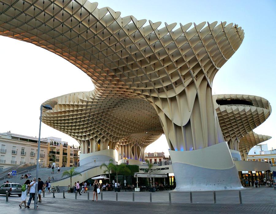 Mercado de la Encarnación Seville Spain