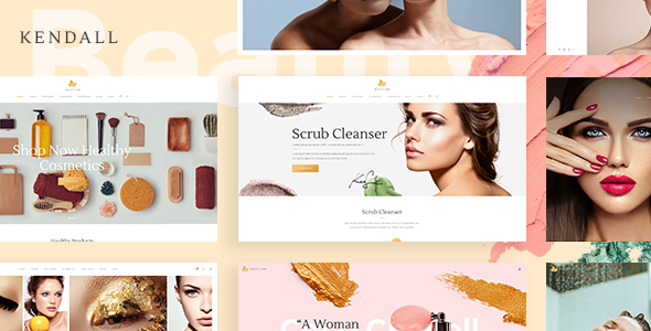 Kendall v1.1 – A Stylish Theme for Spa, Hair & Beauty Salons