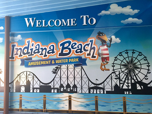 Indiana Beach Sign