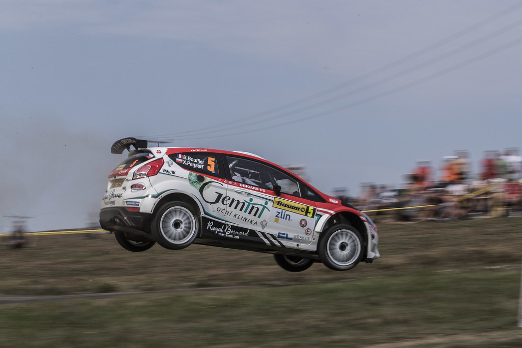 05 BOUFFIER Bryan (FRA)  PANSERI Xavier  (FRA) Ford Fiesta R5 action during the 2017 European Rally Championship ERC Barum rally,  from August 25 to 27, at Zlin, Czech Republic - Photo Gregory Lenormand / DPPI
