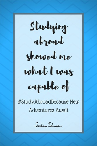 Go! #StudyAbroadBecause New Adventures Await