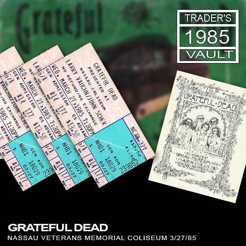 Grateful Dead - Nassau Veterans Memorial Coliseum