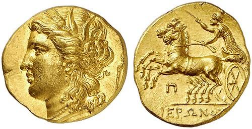 00123Q00 Hemistater of Hieron II