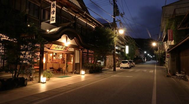 An Old Hot Spring Town / Okutsu Onsen Hot Spring Town