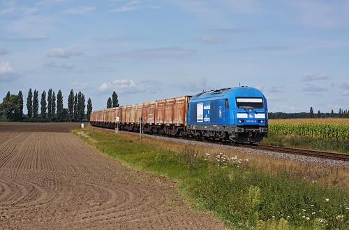 An der Anschlussbahn nach Niedergörne