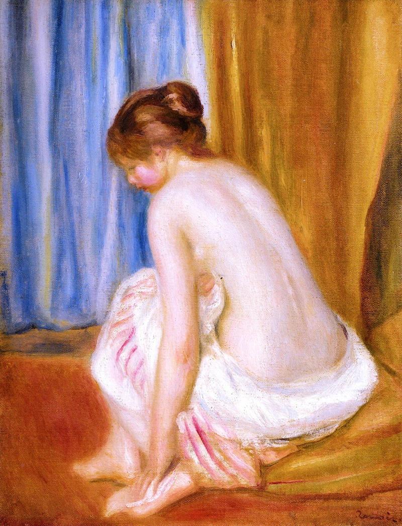 Bather by Pierre Auguste Renoir, 1893