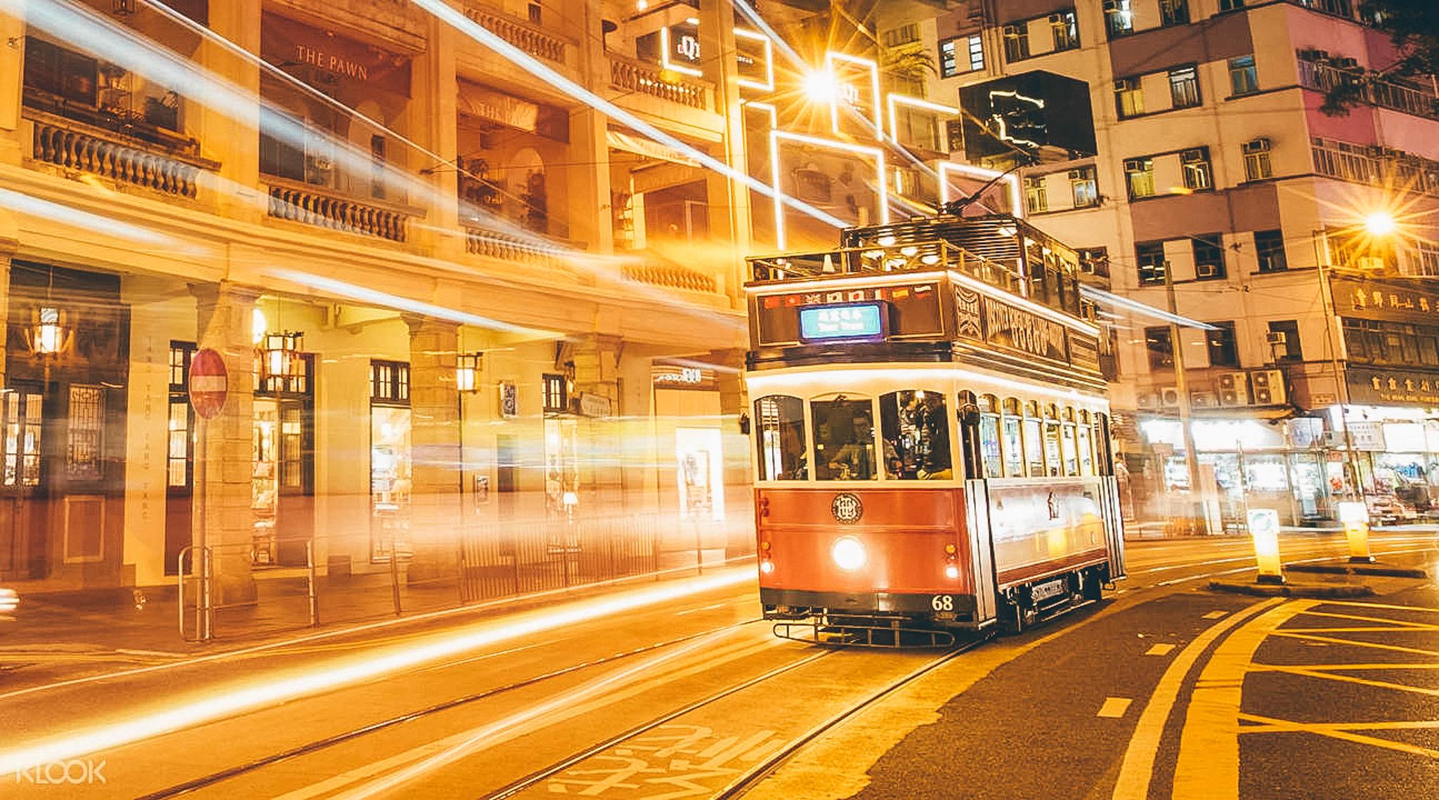 hongkong tram tour