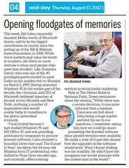 Mid-Day : Floodgates of Memory