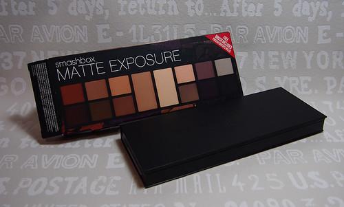Smasbox matte exposure eya shadow palette