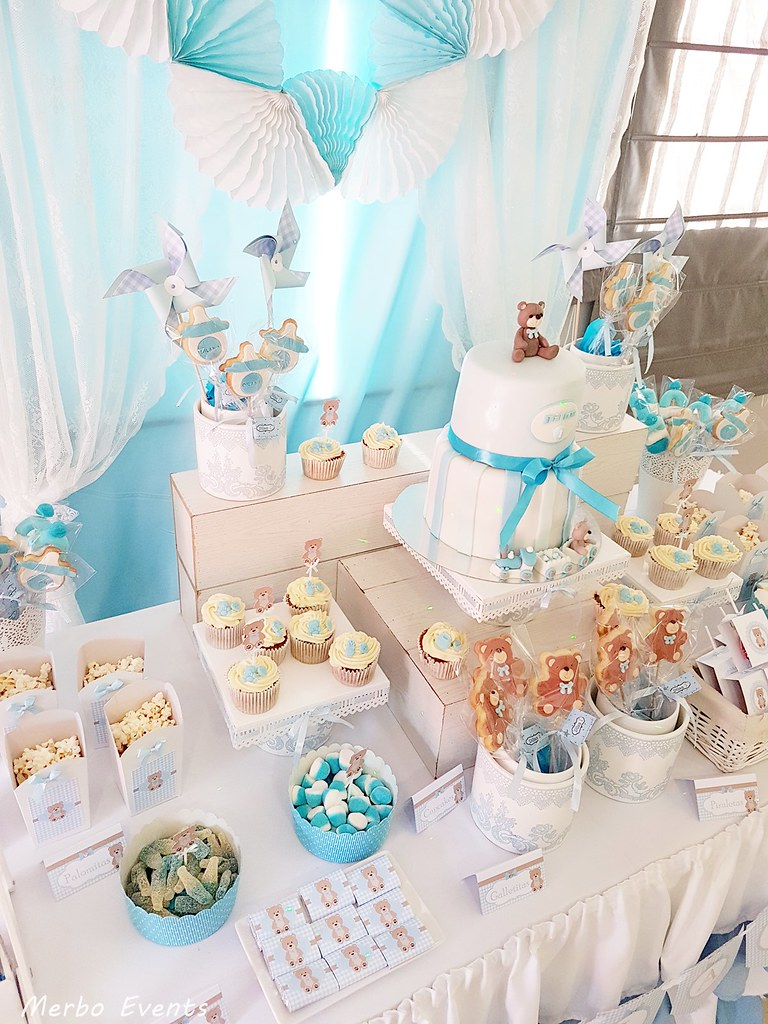 mesa dulce para bautizo MErbo Events