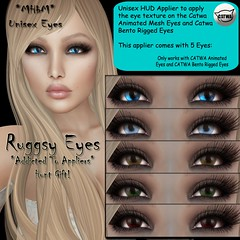 2Ruggsy Eyes - Addicted to Appliers Hunt Gift