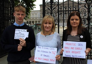 Jamie Sloan, Imelda Munster TD and Kathleen Funchion TD