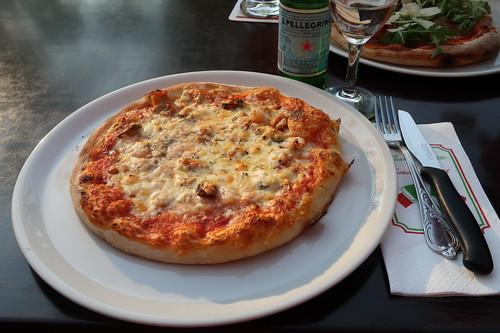 Pizza Frutti di Mare im Ristorante Da Paolo (am Rosenplatz in Osnabrück)