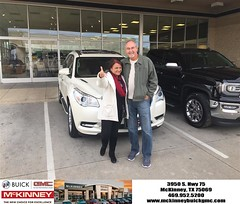 #HappyBirthday to Gary from Joshua Lewis at McKinney Buick GMC!