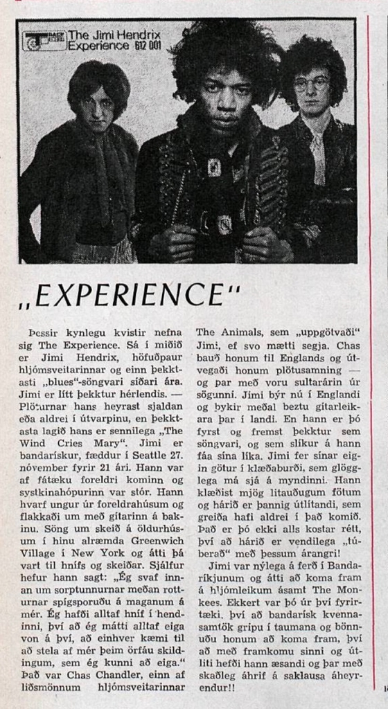 VIKAN (ICELAND) NOVEMBER 9,1967