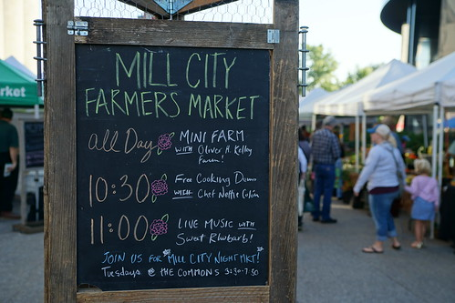 August 12, 2017 Mill City Farmers Market