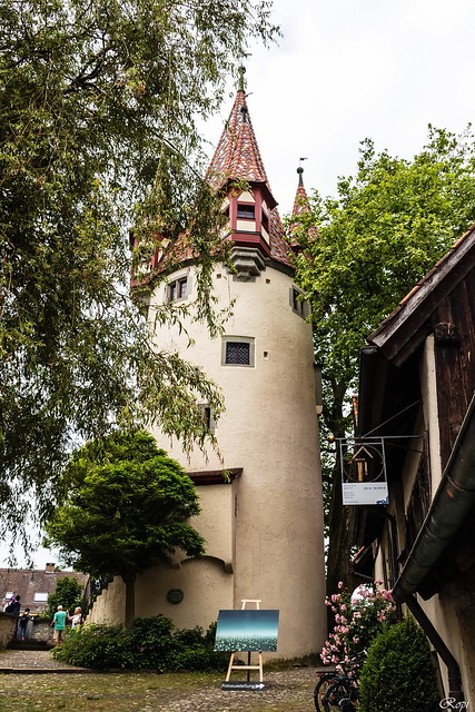 Diebsturm in Lindau, Canon EOS 80D, Canon EF 75-300mm f/4-5.6 IS USM