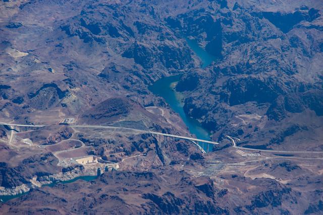 Dam and Colorado River, Canon EOS 600D, Canon EF-S 18-200mm f/3.5-5.6 IS