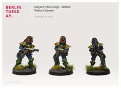 Megacity Riot Judge / 2000ad / Warlord Games