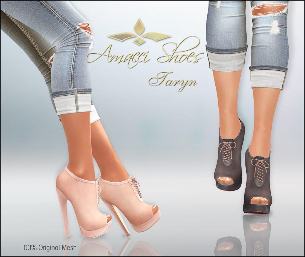 Amacci Taryn for Shoetopia Fall 2017