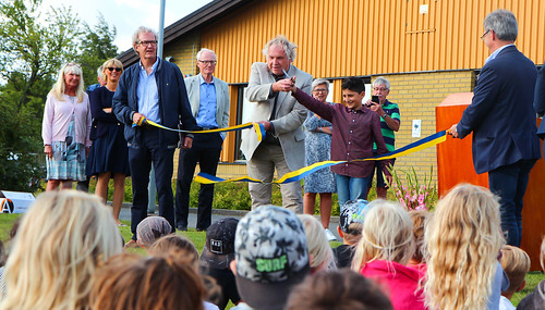Invigning av Simrislundsskolans nya lokaler