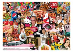 Kitsch collage