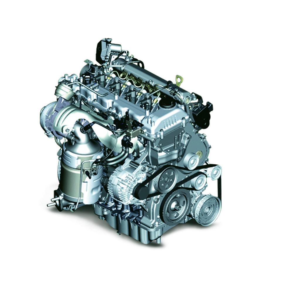 1.6L Gamma Dual VTVT Petrol Engine
