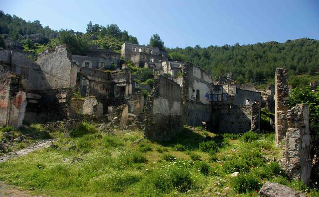 Hike To Kayakoy, Turkey