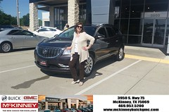 #HappyBirthday to Lelia Dianne from Kevin St Louis at McKinney Buick GMC!