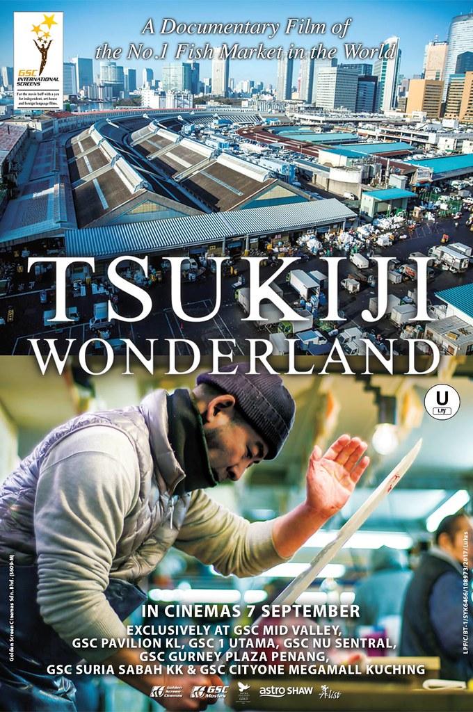 Tsukiji Wonderland Poster - 30Aug2017