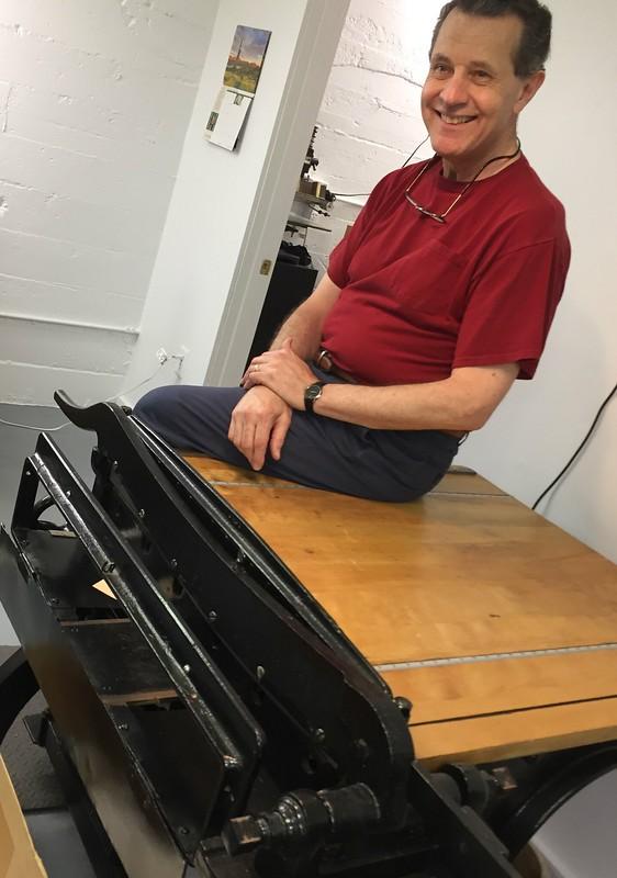 Mentor and master book restorer Gary Buchner - Minnesota Book Restoration