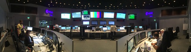 Sim training at ESOC 7 Sep 2017