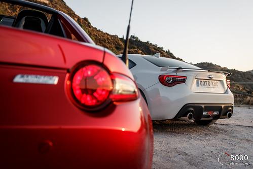 Mazda MX5 RF vs SUBARU BRZ - 8000vueltas-53