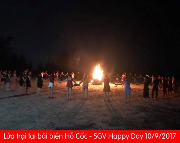 SGV Đốt lửa trại