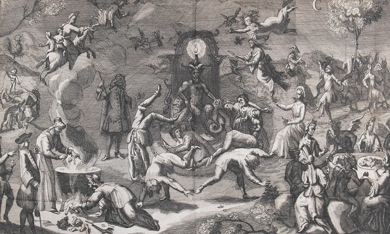 Claude Gillot- The Witches Sabbath (detail)