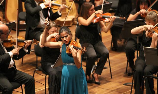 30 FESTIVAL DE MÚSICA ESPAÑOLA DE LEÓN - OSCYL & ANA Mª VALDERRAMA, VIOLÍN & JOSÉ LUIS LÓPEZ ANTÓN - AUDITORIO CIUDAD DE LEÓN 14.9.17
