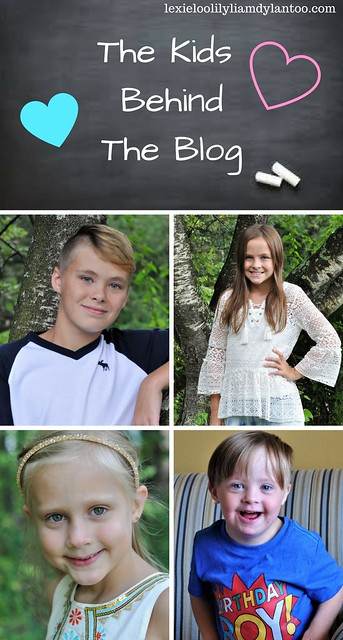 The Kids Behind The Blog Monthly Interview and Photos.