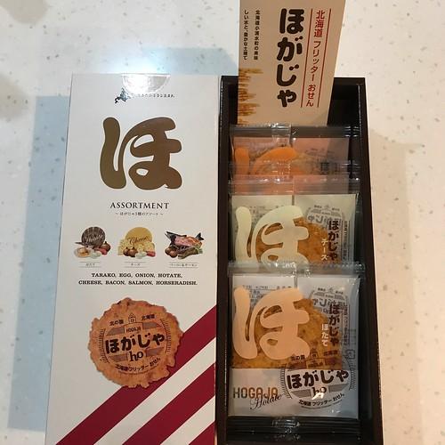 老闆去北海道回來,送我們部門副理一人一盒這餅乾。