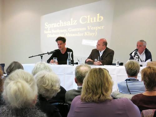 Sprachsalz-Club 1 mit Sacha Batthyany, Alexander Kluy und Guntram Vesper