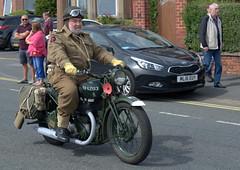 Lytham 1940's Wartime Weekend - vintage motorbike