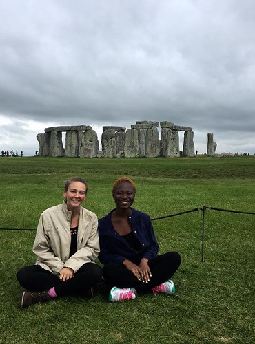 Visiting Stonehenge during my Fulbright program in London. Mariah Robinson: #StudyAbroadBecause You Build Your True Self