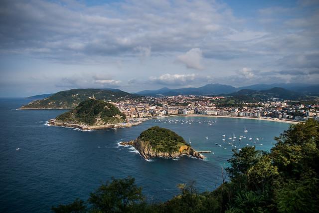 La Concha Bay, Donostia - San Sebastian, Spain