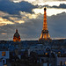 Paris at Dusk by starbuck77