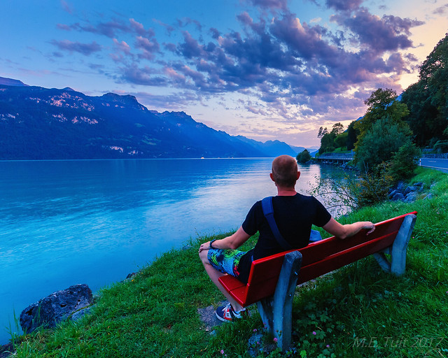 Sunset @ Lake Brienz