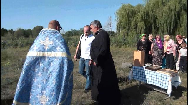 Зустріч духовенства подвір'я із православною громадою села Бобрик Перший