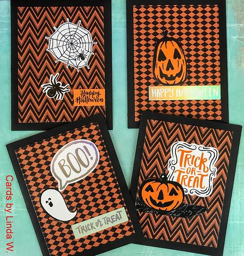 Halloween cards set 5