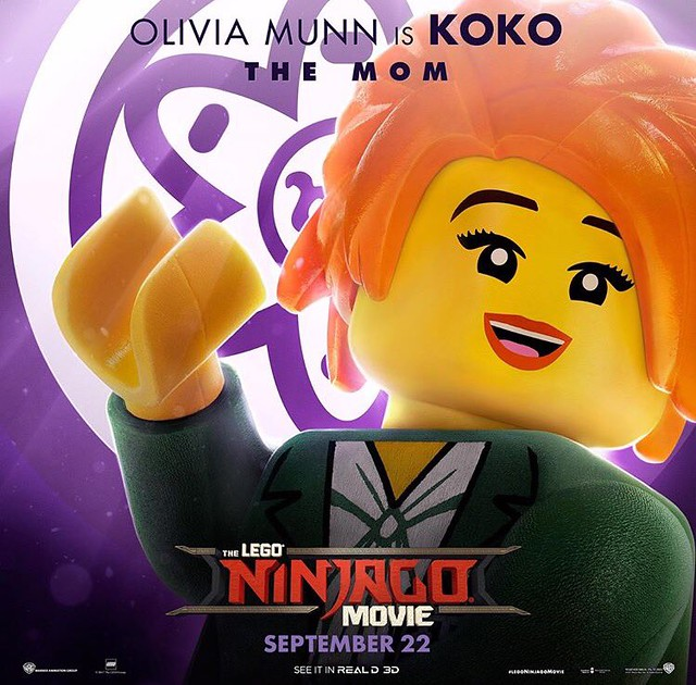 Plakaty postaci z The LEGO Ninjago Movie 6