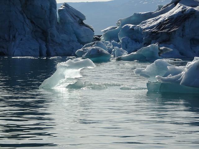 Icebergs in Jökulsárlón